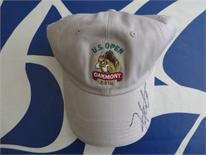 Hideki Matsuyama autographed 2016 U.S. Open golf cap or hat
