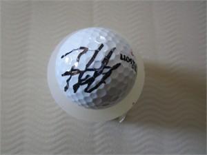Hideki Matsuyama autographed golf ball