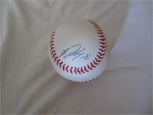 Hiroki Kuroda autographed MLB baseball (PSA/DNA)