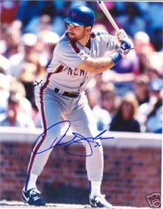 Howard Johnson autographed New York Mets 8x10 photo