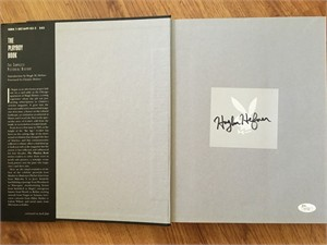 Hugh Hefner autographed The Playboy Book The Complete Pictorial History (JSA LOA)