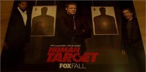 Human Target 2010 Comic-Con FOX promo poster