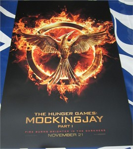 Hunger Games Mockingjay logo teaser mini 13x20 movie poster