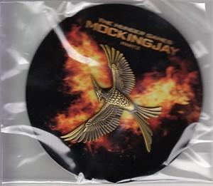 Hunger Games Mockingjay Part 2 movie 2015 Comic-Con promo pin