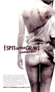 I Spit on Your Grave movie 2010 Comic-Con promo 3x5 card