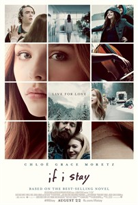 If I Stay full size 27x40 inch double sided movie poster (Chloe Grace Moretz)