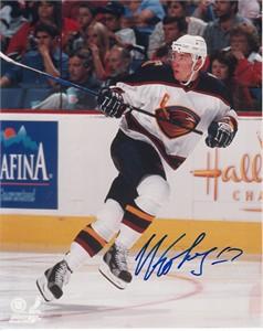 Ilya Kovalchuk autographed Atlanta Thrashers 8x10 photo (JSA)