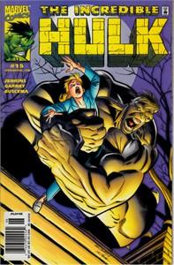 Incredible Hulk Marvel comic book issue #15