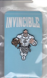 Invincible 2016 Comic-Con Skybound promo Yesterdays enamel pin ltd 1000 NEW