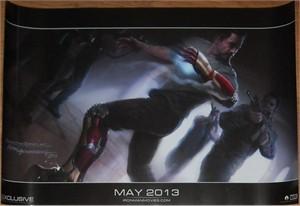 Iron Man 3 2012 Comic-Con exclusive promo 13x20 Marvel movie poster