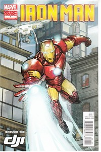 Iron Man DJI Marvel Custom Edition 2015 comic book