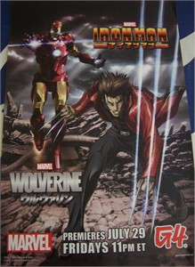 Iron Man Wolverine 2011 Comic-Con G4 promo poster