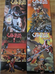 Iron Wings lot of 4 comic books