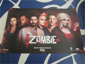 iZombie cast 2016 Comic-Con exclusive 11x17 inch mini poster