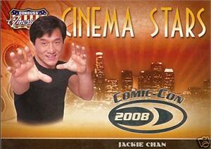 Jackie Chan 2008 Donruss Americana 2 Comic-Con promo card