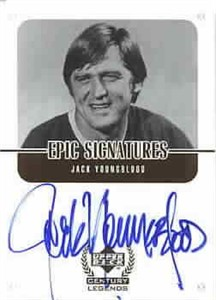 Jack Youngblood certified autograph Upper Deck Century Legends card