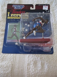 Jackie Joyner-Kersee autographed 1996 Olympics Kenner Starting Lineup action figure