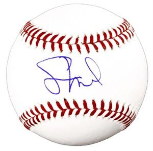 Jason Heyward autographed MLB baseball