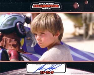 Jake Lloyd autographed Star Wars Anakin Skywalker 8x10 photo