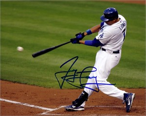 James Loney autographed Los Angeles Dodgers 8x10 photo