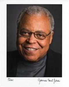 James Earl Jones autographed 8x10 portrait photo (JSA)