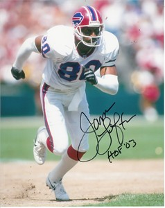 James Lofton autographed Buffalo Bills 8x10 photo