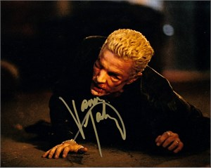 James Marsters autographed Buffy the Vampire Slayer 8x10 photo (with Sarah Michelle Gellar)