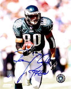 James Thrash autographed Philadelphia Eagles 8x10 photo