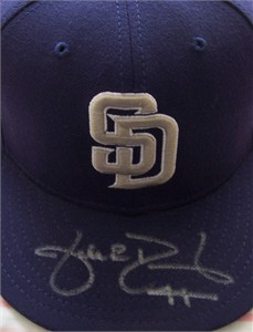 Jake Peavy autographed San Diego Padres game model cap or hat