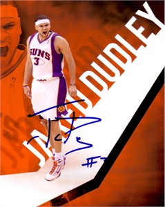 Jared Dudley autographed Phoenix Suns 8x10 photo