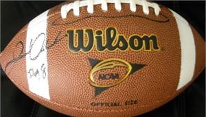 Jared Odrick (Penn State) autographed Wilson NCAA football