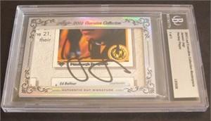 Jaromir Jagr certified autograph 2012 Leaf Executive Masterpiece Cut Signature card #1/1