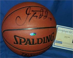 Jason Kidd autographed Spalding NBA basketball (Steiner)