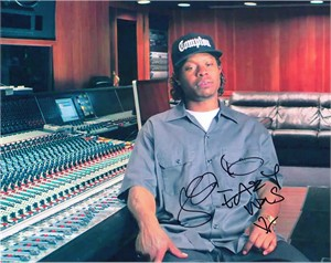 Jason Mitchell autographed Straight Outta Compton 8x10 photo inscribed Eazy