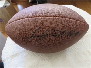 Jason Pierre-Paul autographed Wilson NCAA football
