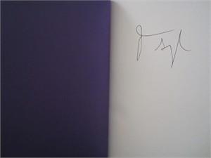 Jason Segel autographed Nightmares! hardcover children's book