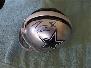 Jason Witten & Jason Garrett autographed Dallas Cowboys mini helmet
