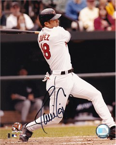 Javy Lopez autographed Baltimore Orioles 8x10 photo