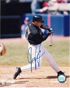 Jay Payton autographed New York Mets 8x10 photo