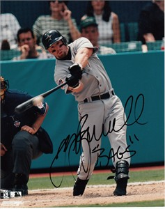 Jeff Bagwell autographed Houston Astros 8x10 photo inscribed Bags