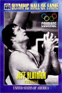 Jeff Blatnick Olympic Hall of Fame Sports Illustrated for Kids card
