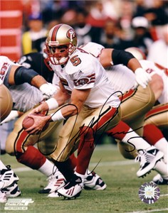 Jeff Garcia autographed San Francisco 49ers 8x10 photo