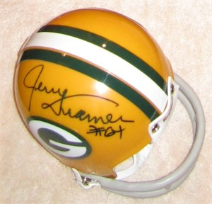 Jerry Kramer autographed Green Bay Packers throwback mini helmet