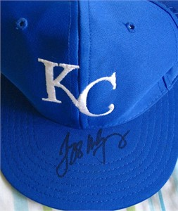 Jeff Montgomery autographed Kansas City Royals cap or hat