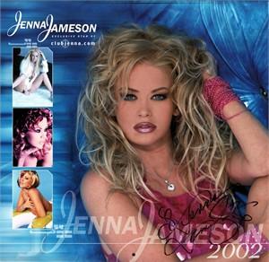Jenna Jameson autographed 2002 calendar
