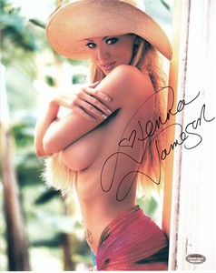 Jenna Jameson autographed sexy 8x10 topless photo (Schwartz Sports)