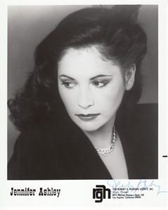 Jennifer Ashley autographed 8x10 publicity photo