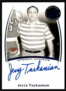 Jerry Tarkanian autographed UNLV 8x10 photo