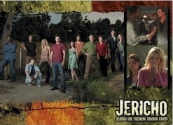 Jericho Season One 2007 Comic-Con promo card J1-SD2007