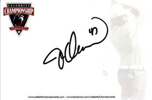 Jesse Orosco autographed 4x6 signature card
